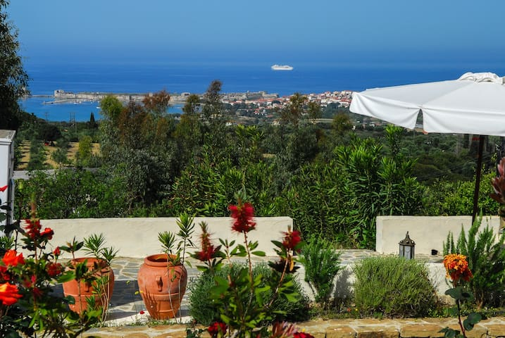 Villa with spectacular sea view and swimming pool - Methoni,  Messinia - Villa