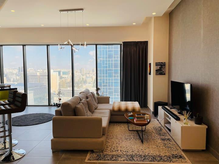 Luxury 1-Bedroom Tower Apt in the heart of Amman