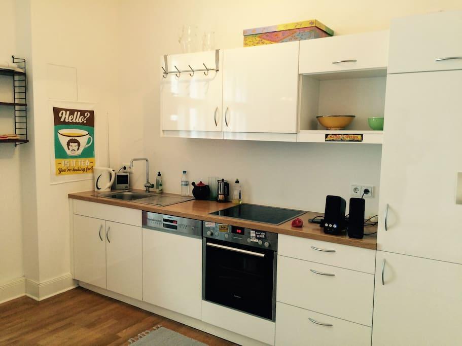 High quality kitchen with Siemens equipment