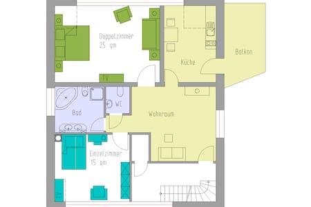 Ferienwohnung - Willich - Appartamento