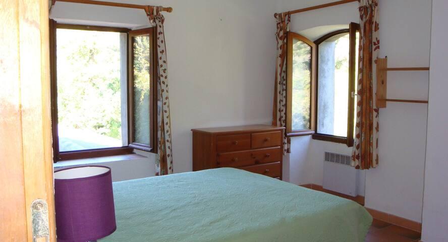 chambre 1 vue sur la rivière