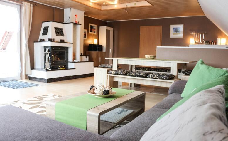 Ferienwohnung bei Neubrandenburg in Ihlenfeld - Neuenkirchen - Appartement