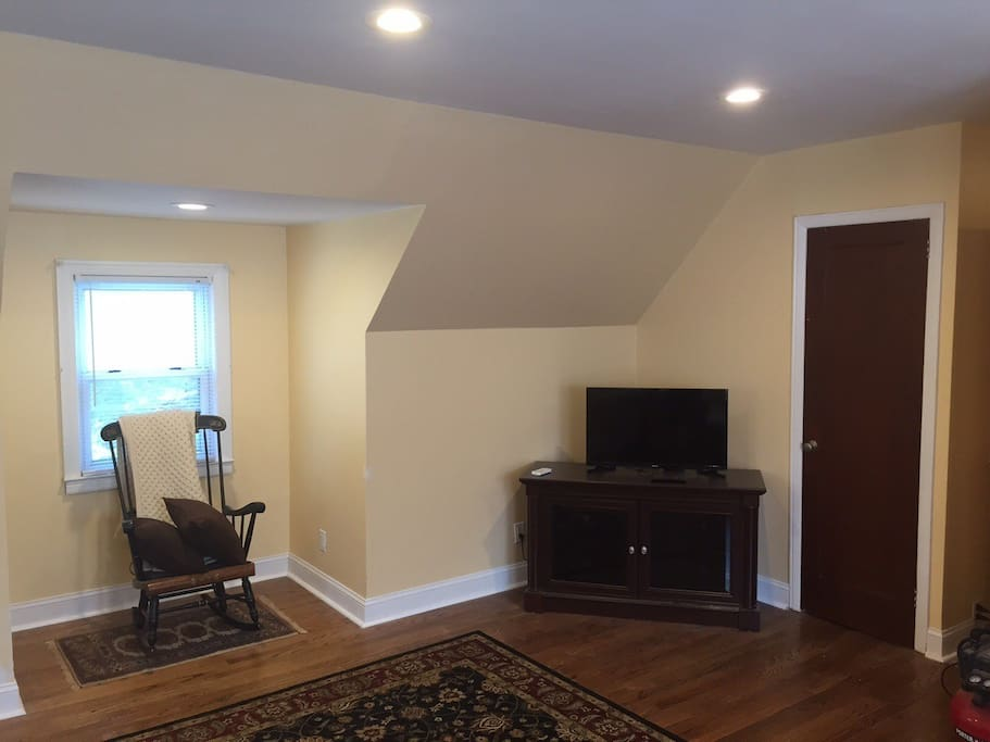 Cable TV with plenty of closet space and brand new hardwood floors