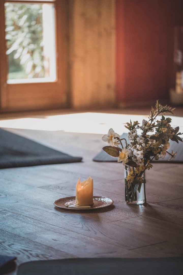 Yoga Urlaub am Bauernhof für Singles und Paare