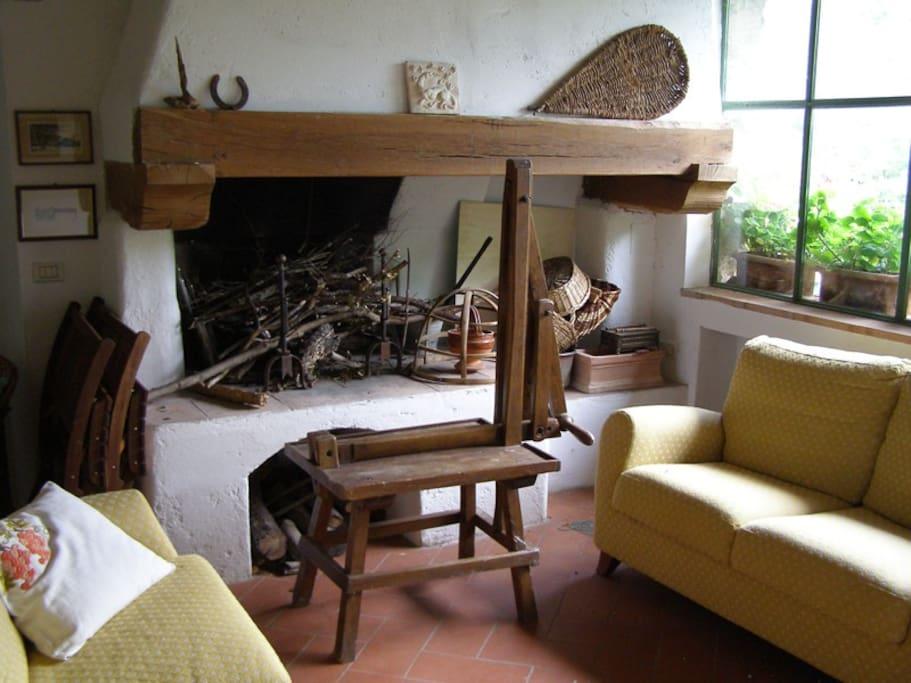 Antico fienile con giardino maisons louer bagno a for Bagno a ripoli fi