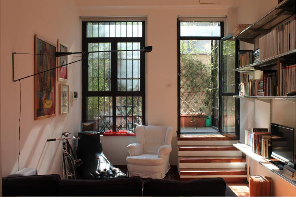 Grazioso loft zona tortona navigli loft in affitto a for Zona tortona milano
