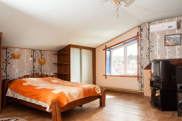 BIG HOUSE,BEACH+SAUNA+BBQ+EURO 2018+free transfer! - Zhigulevsk