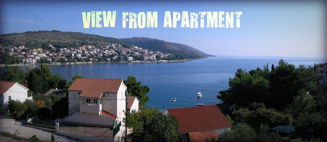 DIOCLES apartments, ap LUCE (4+2) - Okrug Gornji - Apartamento