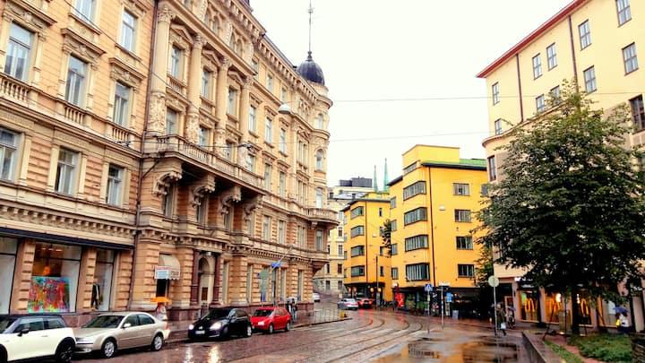 在赫尔辛基⭐的便宜和舒适方便的位置