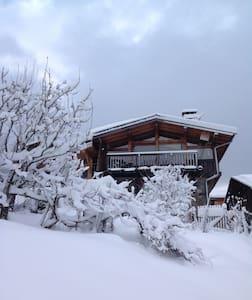 Superbe chalet proche Courchevel - Montagny - Chalet