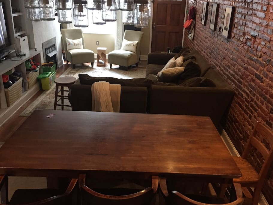 Large dining table 8-10 person