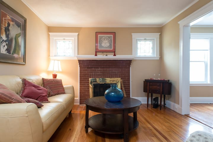 Family home for Boston area stay, sleeps 6 - 昆西(Quincy) - 公寓