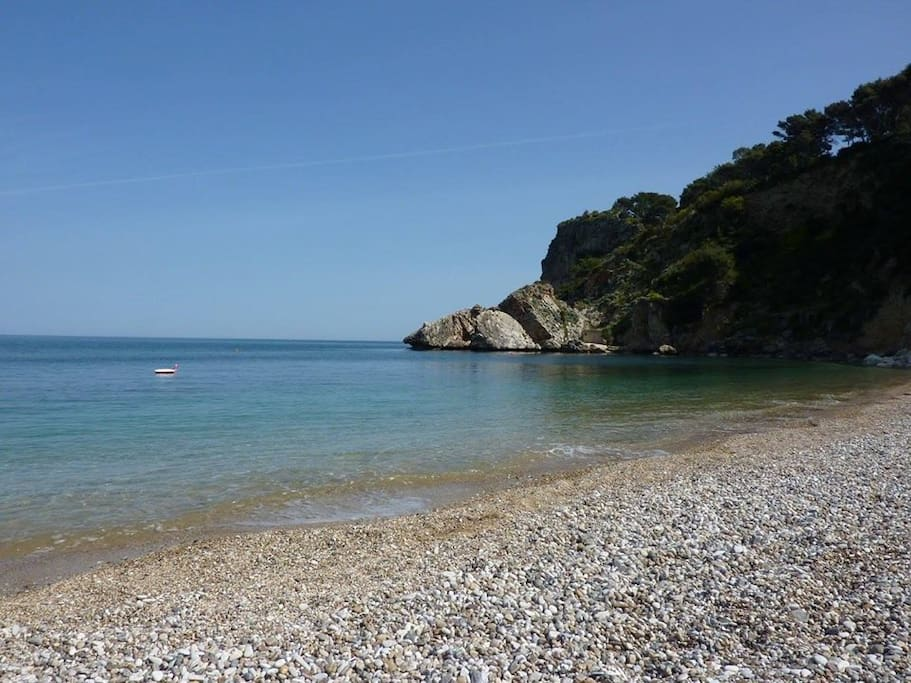 Spiaggia di guidaloca (100mt)