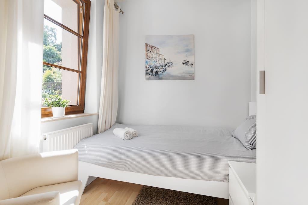 sypialnia jednoosobowa