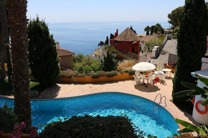 Charming idyllic sea view house