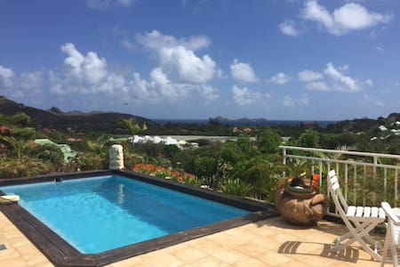 Private room in house with pool - Gustavia - Casa