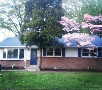 3bd home 15 min away for pope visit - West Deptford - Haus