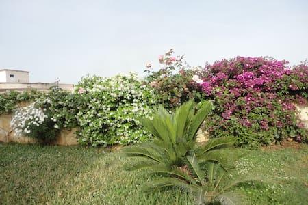 Nice room with garden. - Ksamil - 타운하우스