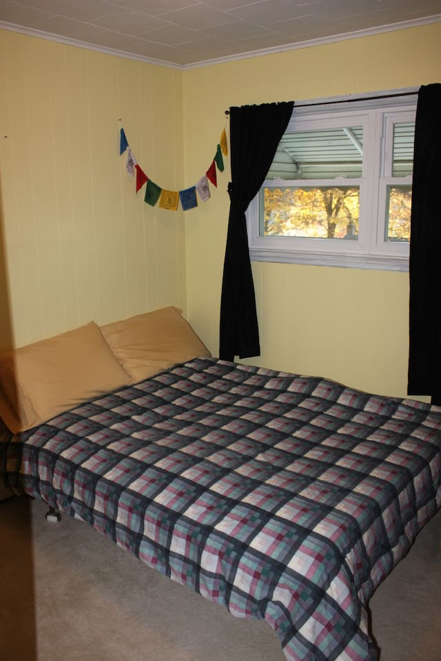 Full-sized bed for a couple or 2 friends or relatives