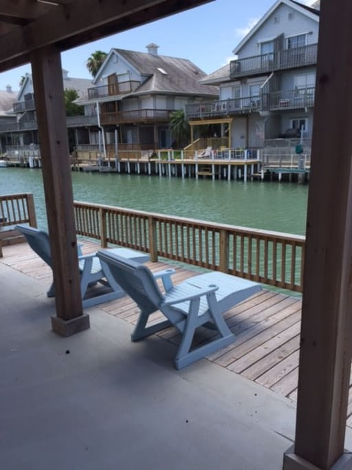 Pergola, fishing dock !