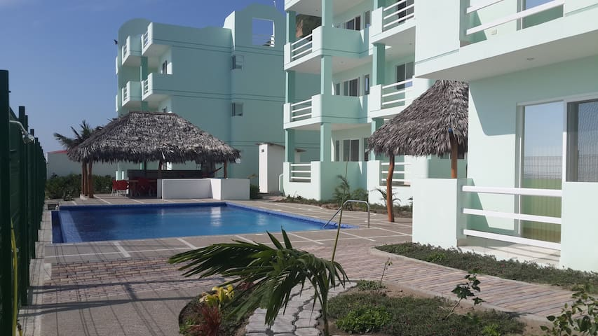 Beachfront Apartment Canoa - Canoa - Daire