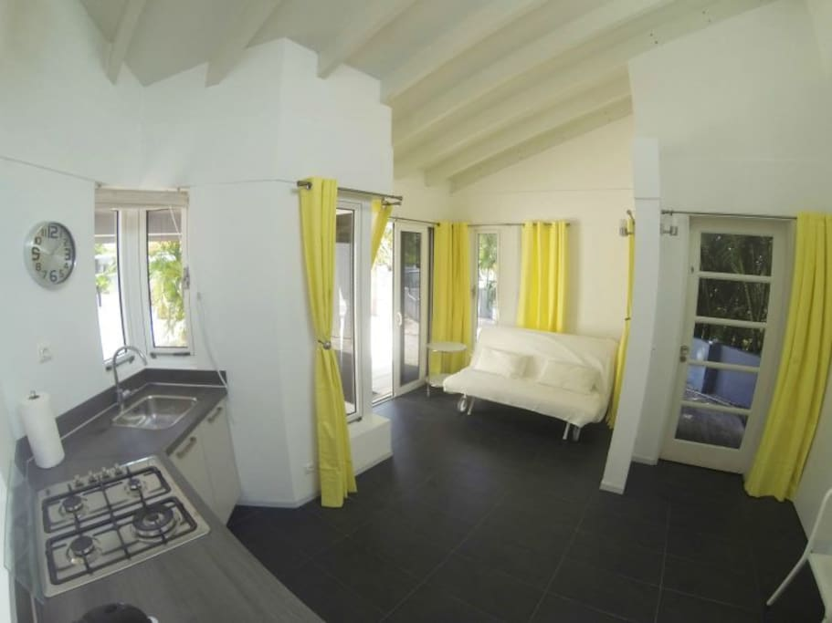 Villa Uno Curacao - Wohnraum