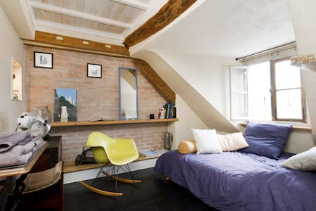 charming flat rooftop Montmartre - 巴黎 - 公寓