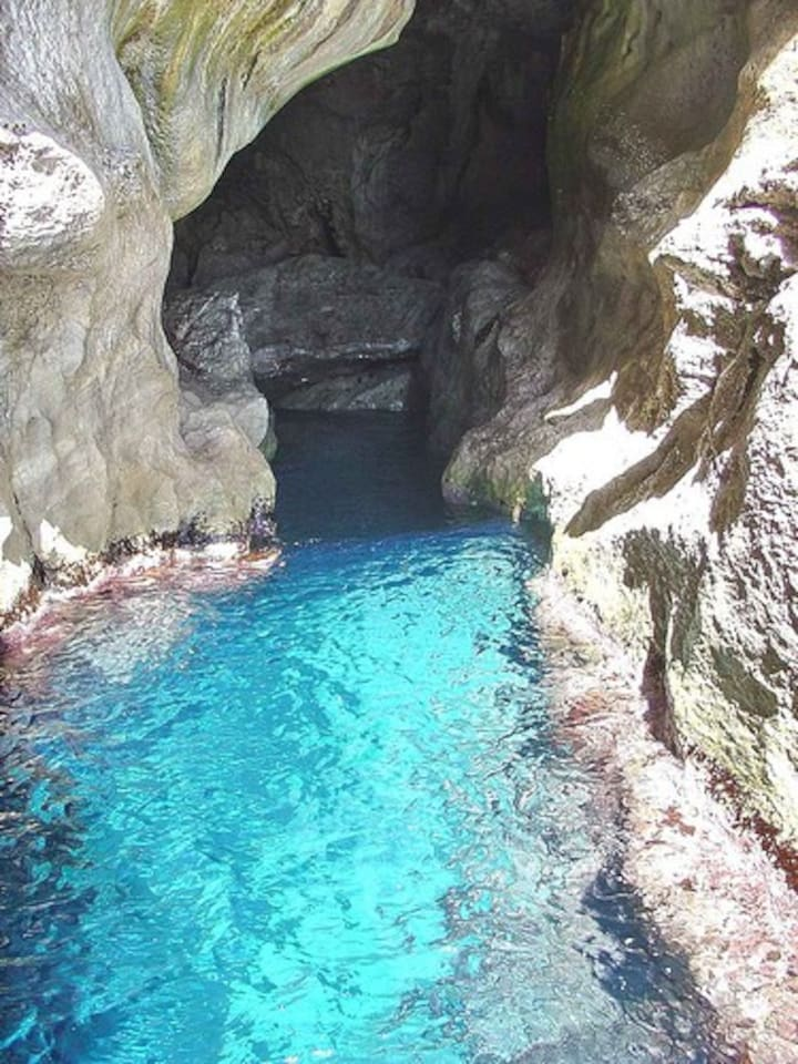 una delle tante grotte