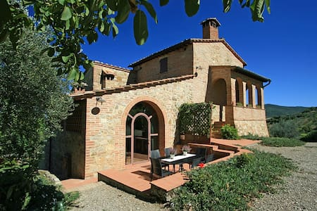 VIRGILIUS - Cozy Tuscany villa with stunning views - Radicondoli
