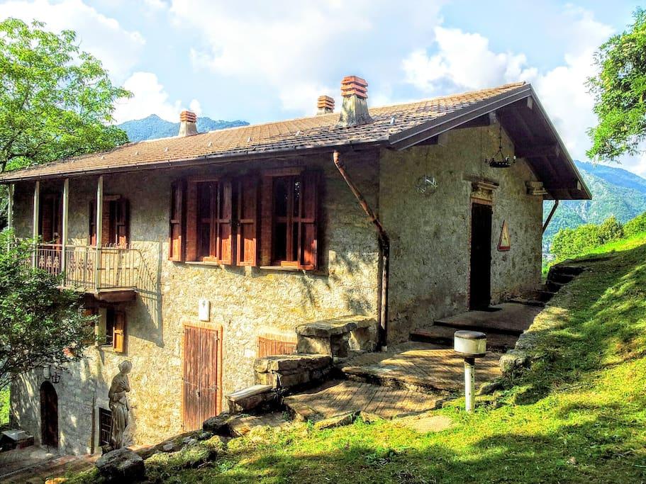 Casa di montagna case in affitto a bracca bergamo italia for Case affitto bergamo