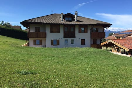 Accogliente appartamento in Villa - Ronzone - Apartment