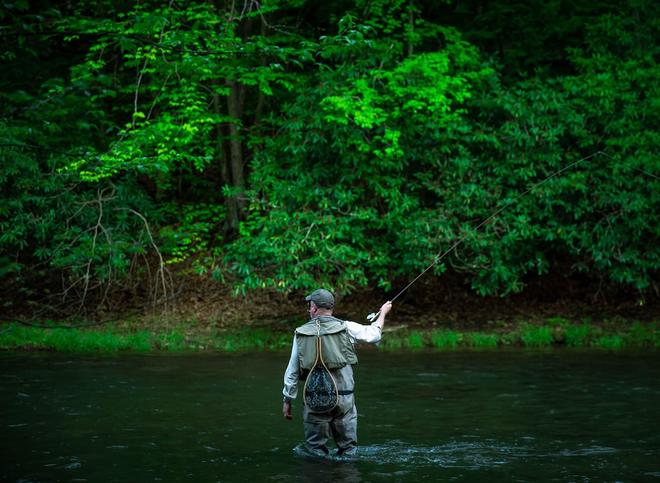 Flyfishing at Your backdoor!