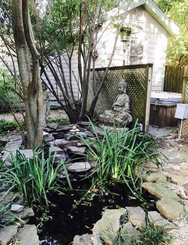 Zen water garden!