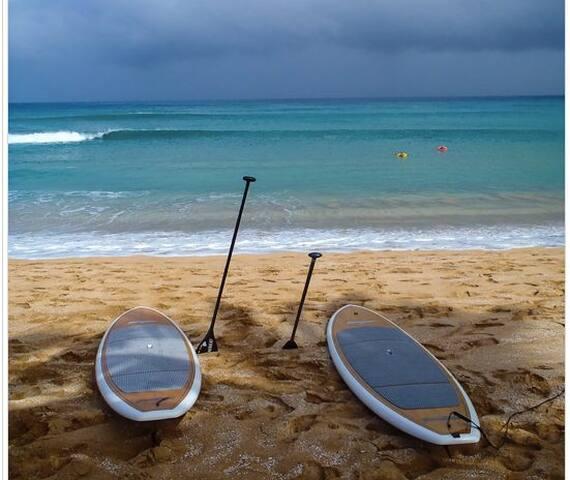 Luxury Beachfront apt. 2 SUPs inc.! - Douglas