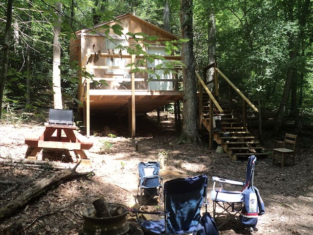 Bambi cabin with secluded site - Cosby - Cabaña
