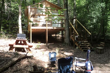 Bambi cabin with secluded site - Cosby
