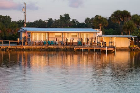 Mosquito Lagoon Fish Camp's 2 B/R - Oak Hill - Cabin