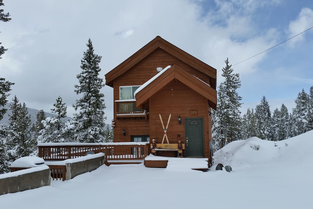 Quandary View Cabin Cabins For Rent In Breckenridge