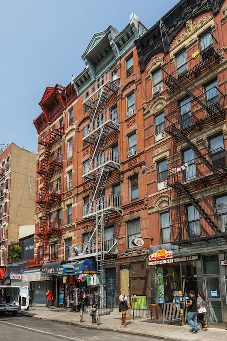 You will be in one of the LES is a fun and vibrant neighborhood, everything is just a stones throw away 24/7!