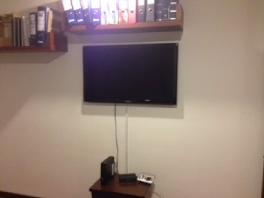 42 LED TV in Second Room with cable tv
