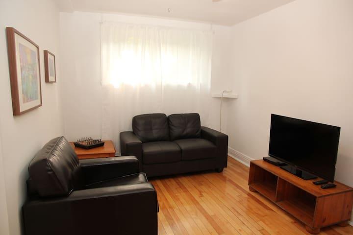 Centrally located NDG apartment - Montréal - Huoneisto