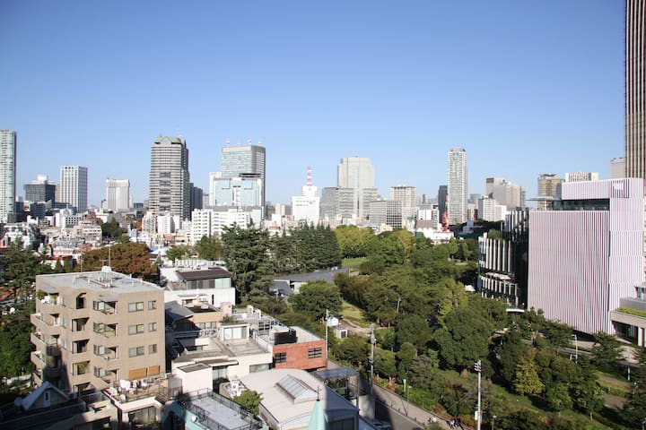 Amazing View Roppongi 2 min station - Minato-ku - Appartement