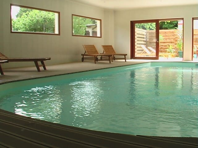 gite 5/7 persons with indoor pool