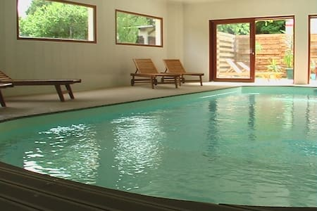 gite 5/7 persons with indoor pool - Chamery - 公寓