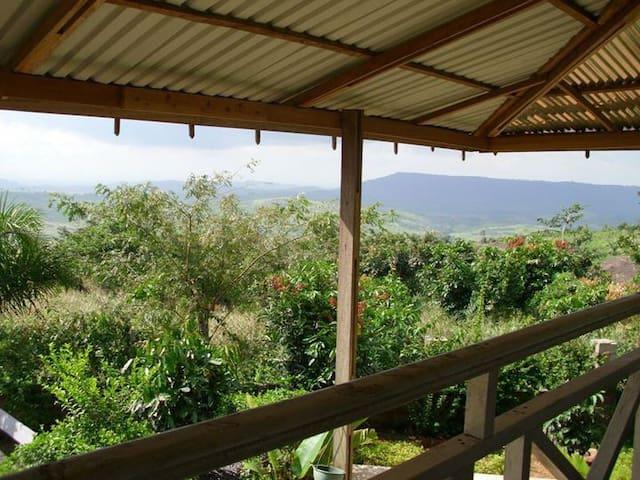 Charm, Rustic-Chic, THE view, Peace - Berekuso - House