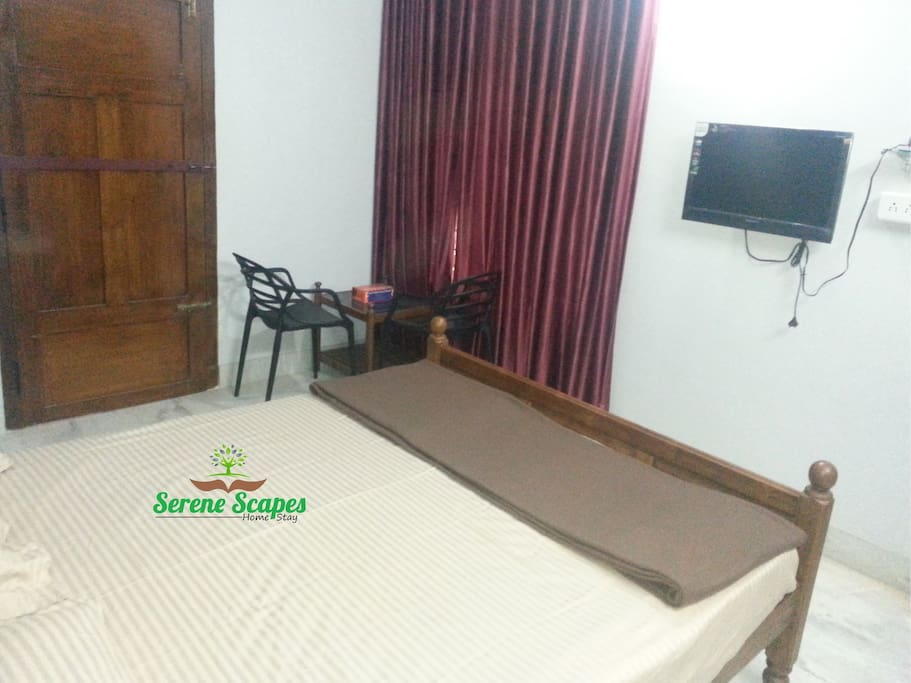 Double room AC with Balcony.