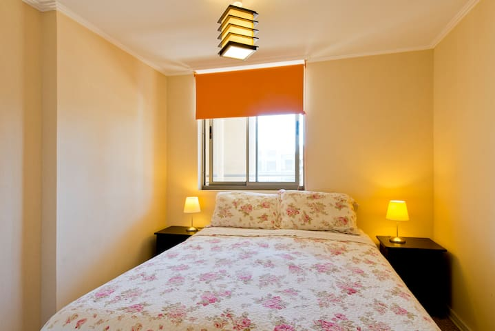 Hab. cama 2 plazas/Room Double bed