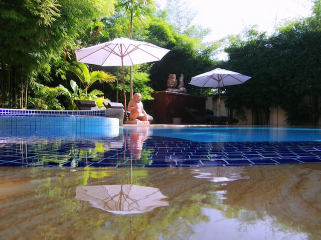 Pavillon Indochine - Family Room - Krong Siem Reap - Bed & Breakfast