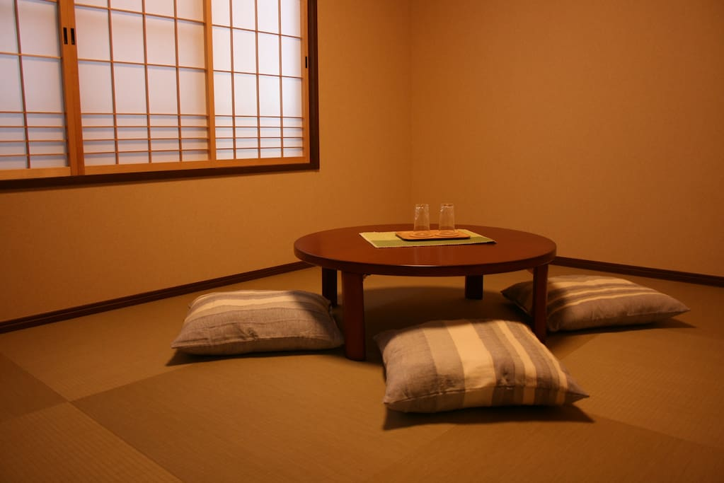 Four person tatami room.