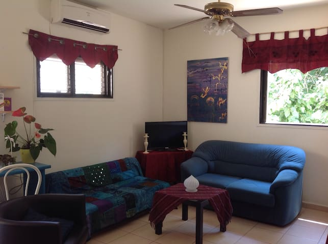 2 rooms apartment balcony, - Kefar Sava